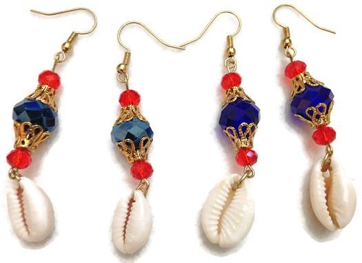LaPrince Stewart Gullah Geechee Handmade Geechee Lady Designs Charleston Necklace Set By M